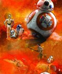 Baumwolle Star Wars BB-8 Droid
