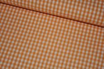 Baumwolle Vichy Karo orange 3mm