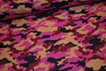 Cord Camouflage pink