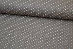 Baumwolle Small Dots by Poppy Taupe 019