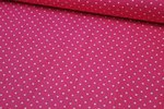 Baumwolle Small Dots by Poppy pink 006