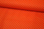 Baumwolle Small Dots by Poppy orange