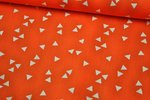 Baumwolle Triangle by Poppy orange