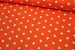 Baumwolle Petit Stars by Poppy orange