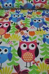 Flanell Cuddle Prints Owls by Fabri quilt