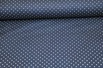 Baumwolle Small Dots by Poppy navy 002