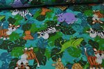 Flanell Cuddle Prints Jungle Friend by Fabri quilt