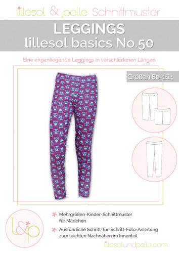 Lillesol Basics No.50 leggings