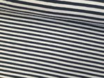 Jersey Stripes navy/weiß 5 mm